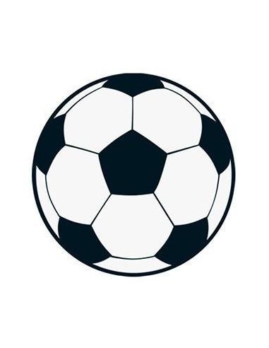 Fotbalový míč - nalepovací tetování