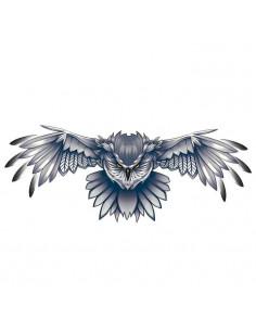 Letící sova - nalepovací...