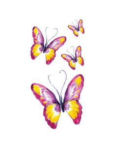 Barevní motýli - velké...