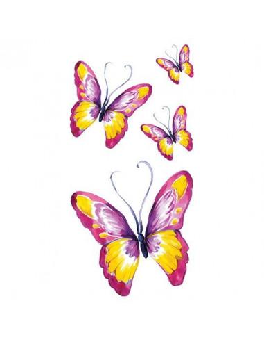Barevní motýli - velké nalepovací...