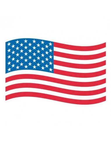Americká vlajka - nalepovací tetování