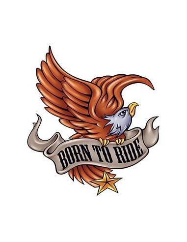 Orel Born To Ride - nalepovací tetování