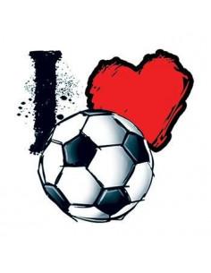 Miluji fotbal - nalepovací...