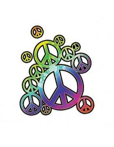Duhové symboly míru -...