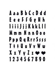 Písmena a čísla -...