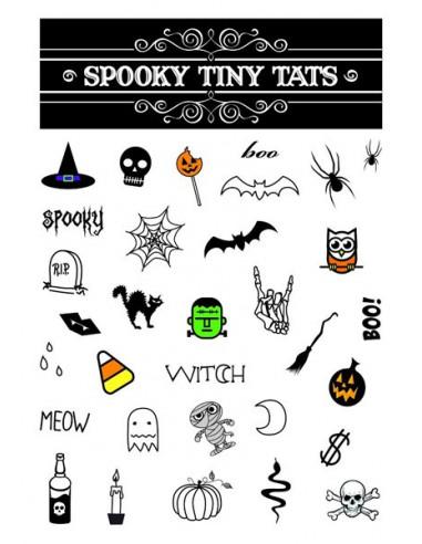 Hallowenské tetovačky - sada 1