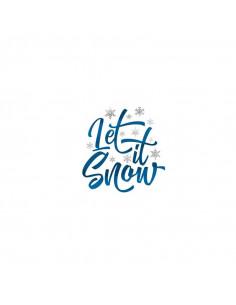 Metalický motiv Let It Snow...