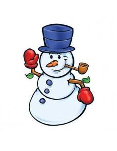 Sněhulák - nalepovací tetování