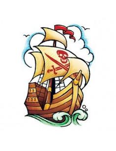 Pirátská loď - nalepovací...