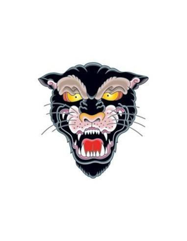 Černý panter - nalepovací tetování