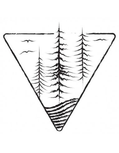 Stromy a ptáci - nalepovací tetování