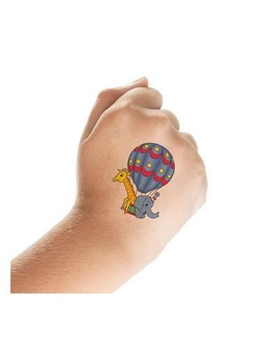 Veselá zvířátka - sada tetovaček 1