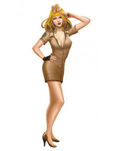 Military Pin-up girl -...