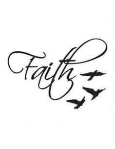 Faith a ptáčci - nalepovací...