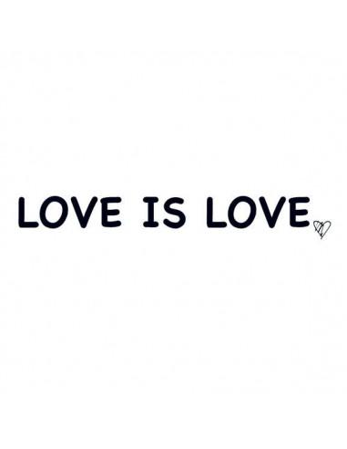 Love is love - nalepovací tetování