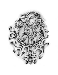Panna Maria s růžencem -...