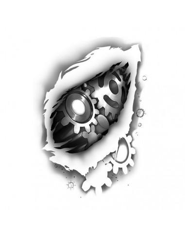 Ozubená kola 2 - nalepovací tetování