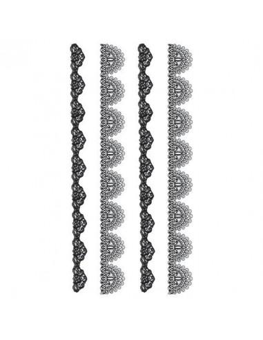 Sada krajkových náhrdelníků - velké...