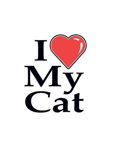 Miluji svou kočku - nalepovací tetování