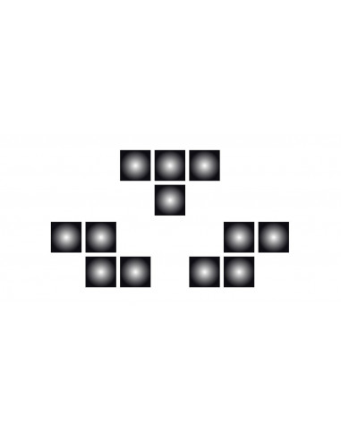 Tetrisové kostičky - nalepovací...