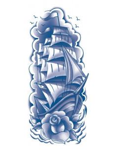 Modrá plachetnice -...