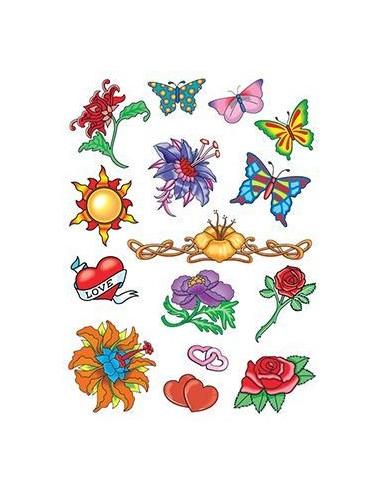 Letní tetovačky - sada 1