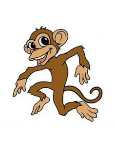 Tančící opice - nalepovací...