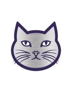 Chromovaná kočka -...