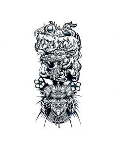 Čínský drak a válečník -...