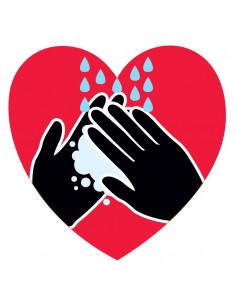 Srdce a ruce - nalepovací...