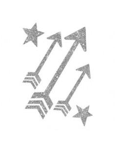 Třpytivé stříbrné šipky -...