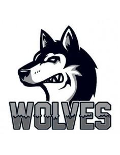 Vlk s nápisem Wolves -...