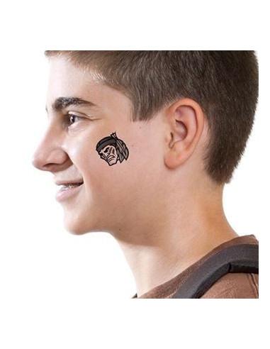 Indián - nalepovací tetování