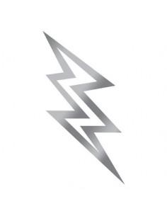 Metalický stříbrný blesk -...