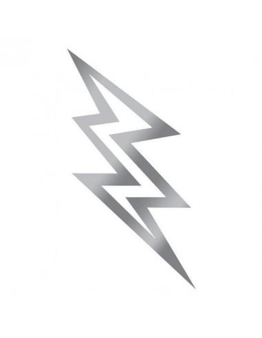 Metalický stříbrný blesk - dočasné...