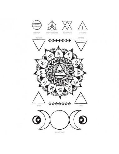 Oko prozřetelnosti - nalepovací tetování