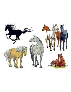 Koníci - sada tetovaček 2