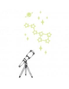 Teleskop s hvězdami...