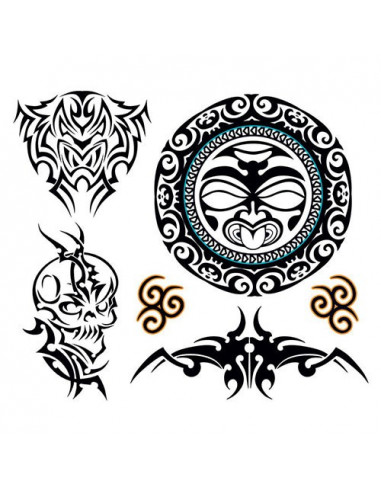 Sada tribal tetovaček pro muže