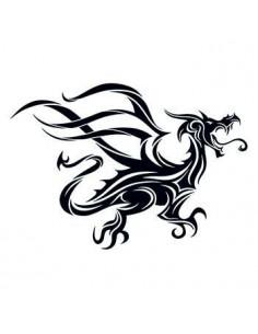 Černý drak - tribal dočasné...