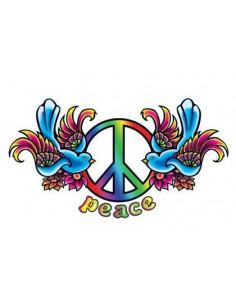 Ptáčci se symbolem Peace -...