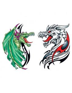 Dva draci - tetovačky...