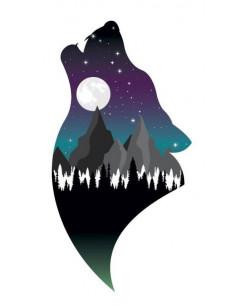 Vlk a noční krajina -...