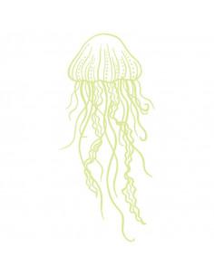 Medúza - bílé tetování...