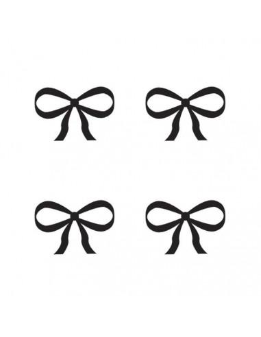 Čtyři mašličky - dočasné tetování