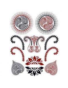 Červenočerné motivy - henna...