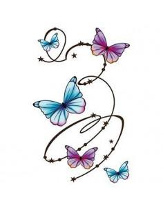 Kroužící motýli - velké...