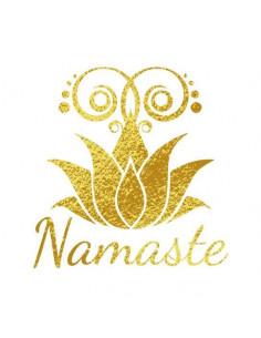 Metalický motiv Namaste -...