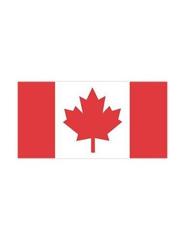 Kanadská vlajka - nalepovací tetování