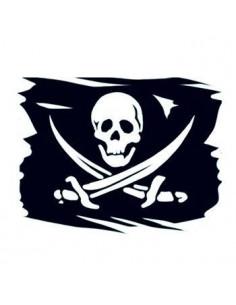 Pirátská vlajka -...